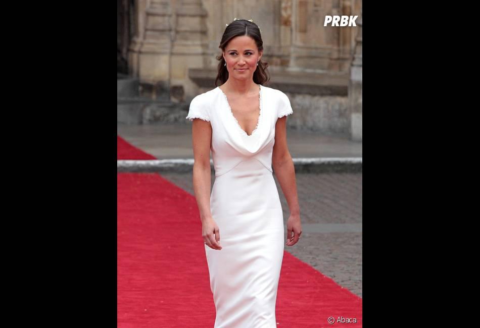 Pippa Middleton avait attiré tous les regards lors du mariage de sa soeur.