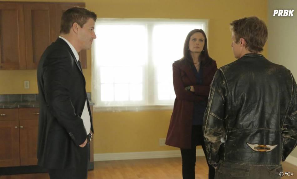 Booth et Brennan en plein interrogatoire