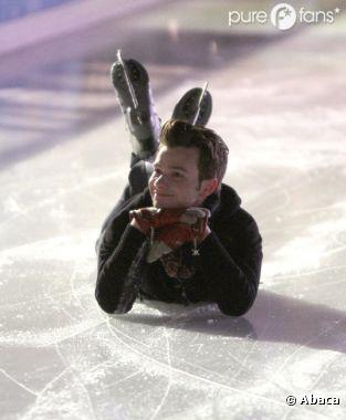 Kurt et Blaine se retrouvent sur la glace !