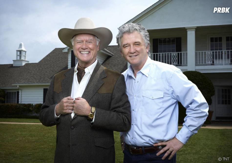 Larry Hagman et Patrick Duffy étaient revenus pour le remake de Dallas