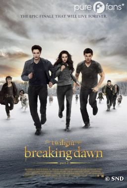 Twilight 4 partie 2 toujours au top du box-office français