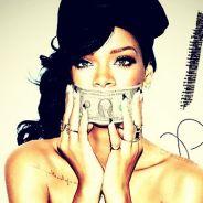 Rihanna : encore topless pour la pochette de son nouveau single ! (PHOTO)
