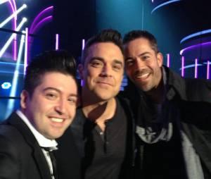 Robbie Williams étaient présent pour la finale de Danse avec les stars