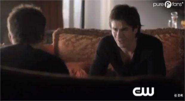 Damon pas vraiment content dans le nouvel épisode de Vampire Diaries