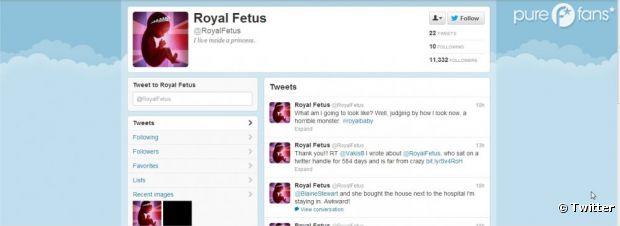 royalfetus le faux compte twitter du b b de kate middleton. Black Bedroom Furniture Sets. Home Design Ideas