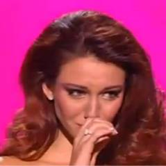Miss France 2012 : Delphine Wespiser en larmes au moment de rendre sa couronne ! (VIDEO)