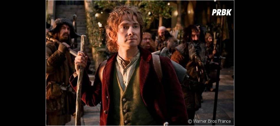 Bilbo le Hobbit traverse beaucoup d'épreuves dans le film