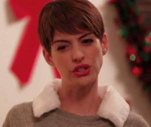 Anne Hathaway ne blague pas !