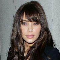 Kim Kardashian : sa nouvelle frange ? C'est du fake !