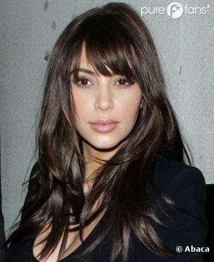 Kim Kardashian : En mode frange !