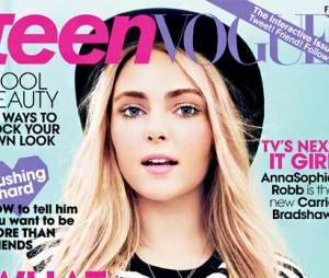 AnnaSophia Robb en couverture de Teen Vogue !
