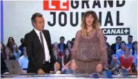 Daphné Bürki enceinte : elle annonce sa grossesse pendant Le Grand Journal