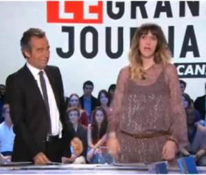 Daphné Bürki annonce sa grossesse pendant Le Grand Journal