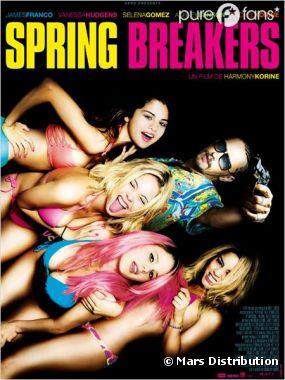Spring Breakers s'affiche en France