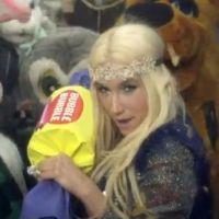 Kesha : C'Mon, son clip festif et délirant !