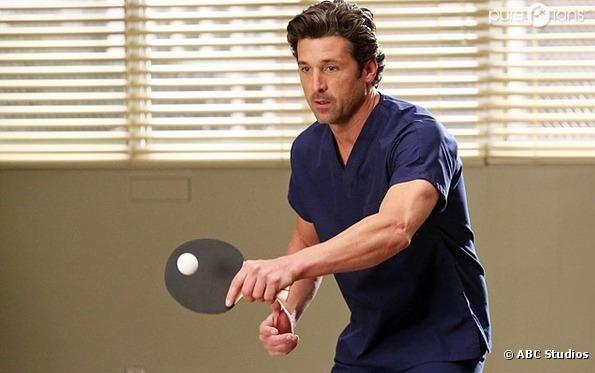 Derek se remet de son opération dans l'épisode 11 de la saison 9 de Grey's Anatomy