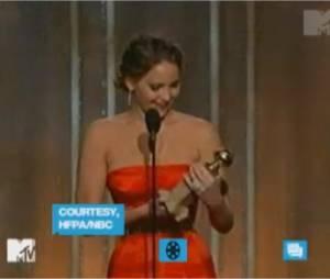 Discours maladroit aux Golden Globes pour Jennifer Lawrence