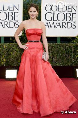 Jennifer Lawrence a fait un flop aux Golden Globes