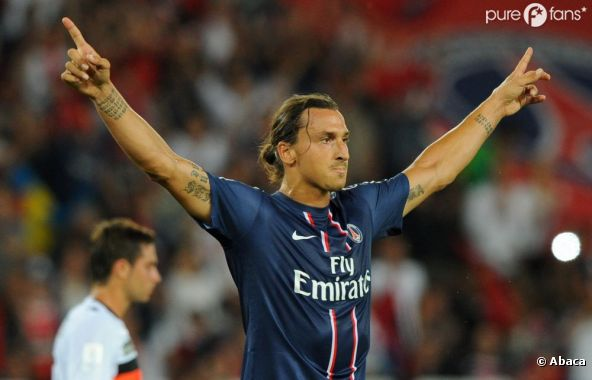 Zlatan Ibrahimovic, nouvelle star des Guignols