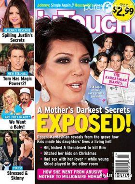 Kris Jenner accusée en Une d'In Touch