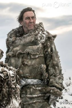 "Ciaran Hinds incarnera Mance Rayder alias ""King Beyond the Wall"""