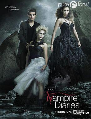 Nouveau trio pour la saison 4 de Vampire Diaries