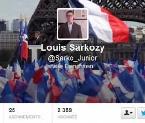 Louis Sarkozy attire la sympathie des internautes.