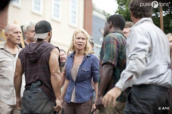 Andrea en danger dans The Walking Dead ?