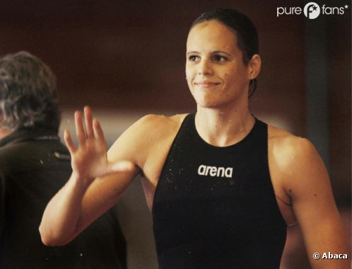 Laure Manaudou,nageuse triple championne du monde, a quitté définitivement les bassins