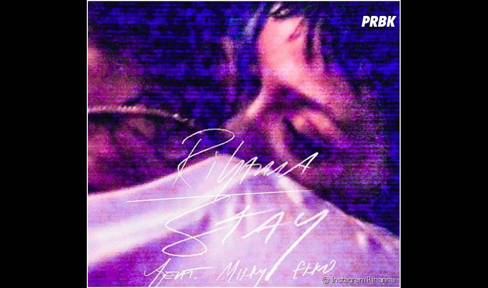 Rihanna câline Chris Brown pour la pochette de Stay