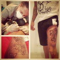 M. Pokora : un nouveau (gros) tatouage qui ne fait pas l'unanimité