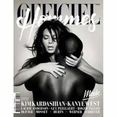 Kim Kardashian et Kanye West refont un bébé en couv' de L'Officiel