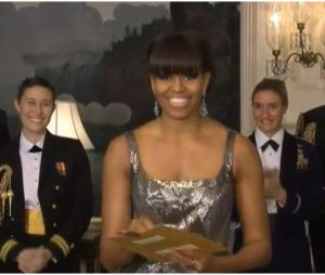 Michelle Obama aux Oscars 2013