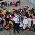 Le Harlem Shake version étudiants tunisiens, filmé dans la cour des Pères Blancs à Tunis.