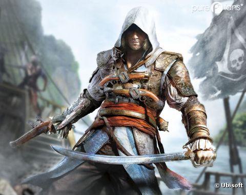 Assassin's Creed 4 et son nouveau héros : Edward Kenway
