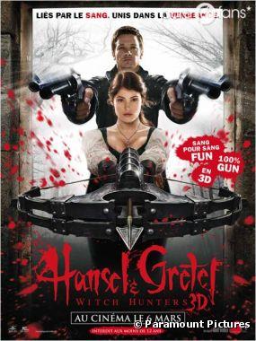 Hansel & Gretel sortira le 6 mars prochain au cinéma