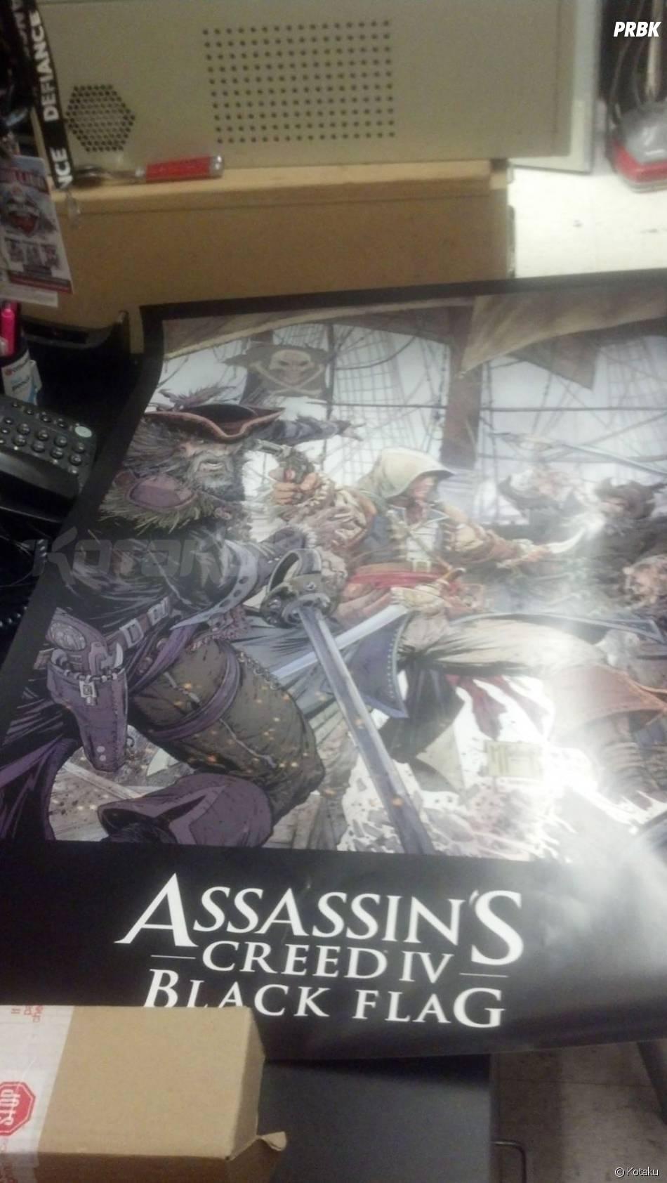 Assassin's Creed 4 Black Flag, à la sauce pirate, sortirait le 29 octobre