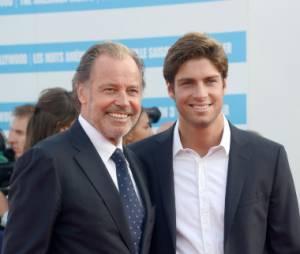 Tom Leeb avec son père, l'humoriste Michel leeb