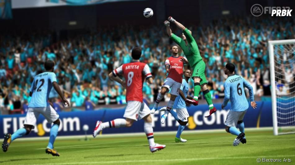 Fifa 13 en deuxième place du podium du top 40 des bien culturels les plus vendus en Grande-Bretagne.