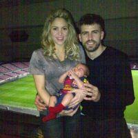 Shakira et Piqué fêtent la victoire du Barça contre Milan...avec Milan