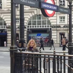 Geri Halliwell heureuse hasbeen : elle redécouvre le métro