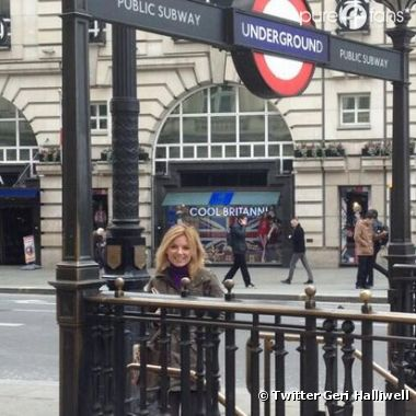 Geri Halliwell a redécouvert le métro