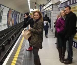 Geri Halliwell n'avait pas pris le métro depuis 17 ans