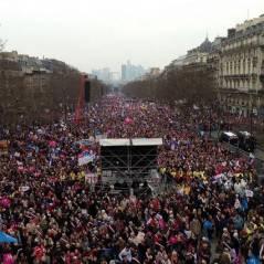"""Mariage pour tous : foule et débordements pendant la manif des """"anti"""""""