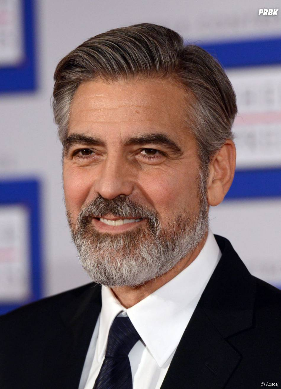 fini la barbe de papi pour george clooney. Black Bedroom Furniture Sets. Home Design Ideas
