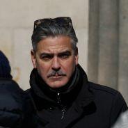 George Clooney : moustache time pour Mister What Else !