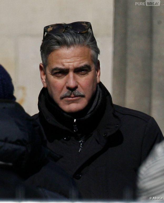 George Clooney, nouvel adept de la moustache