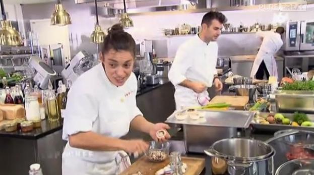 Virginie Martinetti a oublié de mettre du thym dans son plat dans la troisième épreuve de Top Chef 2013.