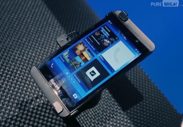 Blackberry propose un aperçu de son OS sur iOS et Android