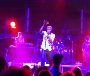 Féfé, sur la scène de la Gaîté Lyrique pour un concert So Music le 3 avril 2013